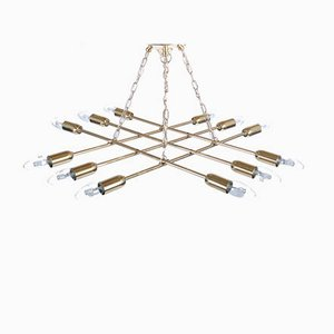 Brass Ceiling Light from Rupert Nikoll