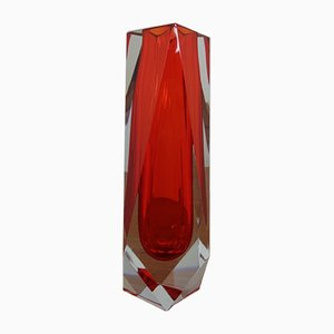 Vintage Italian Murano Glass Vase, 1960s