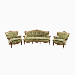 Antique Sofas, Set of 3