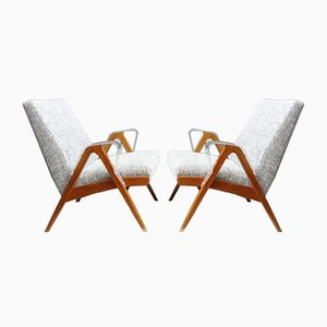 Lounge Chairs by František Jirák for Tatra, 1960s, Set of 2