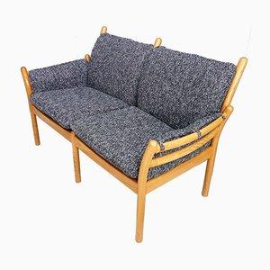 2-Sitzer Sofa von Illum Wikkelsø für CFC Silkeborg, 1960er