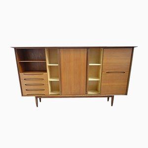 Large Teak Sideboard by Ernst Hilker for Hilker, 1960s