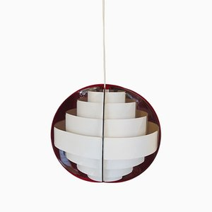 Danish Suspension Lamp by Flemming Brylle and Preben Jacobsen, 1960s