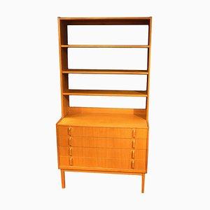 Mid-Century Teak Bookcase by Bertil Gottfrid Hagen for Bodafors, 1960s