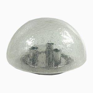 Große Vintage Mushroom Deckenlampe aus Sideglas von Doria Leuchten