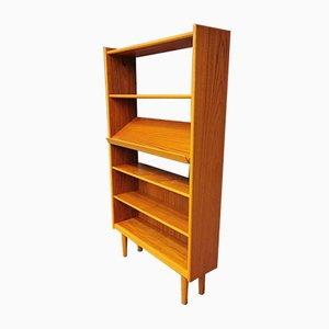 Vintage Scandinavian Teak Wall Unit
