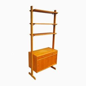 Mueble de pared vintage de roble