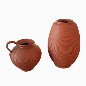 Krug und Vase, 1960er, 2er Set