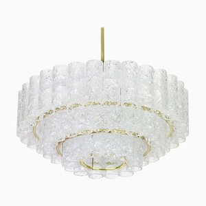 Murano Glass Chandelier from Doria Leuchten, Germany, 1960s
