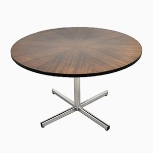 Mid-Century Round Dining Table by Ico Luisa Parisi for MIM