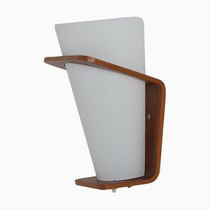 Teak Wandlampe NX 41 von Louis Kalff für Philips, 1960er