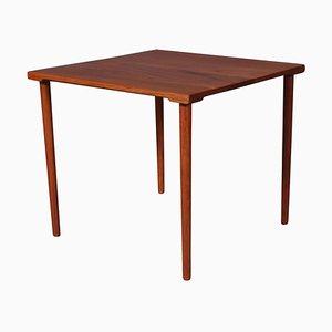 Danish Solid Teak Square Side Table by Hvidt & Mølgaard-Nielsen, 1960s