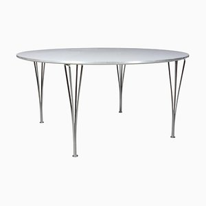 Circular Dining Table by Piet Hein and Bruno Mathsson