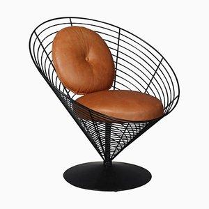 Chaise Wire Cone par Verner Panton