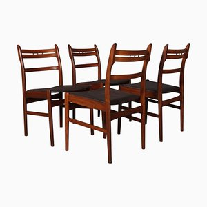 Dining Chairs by Arne Olsen Hovmand, Set of 4