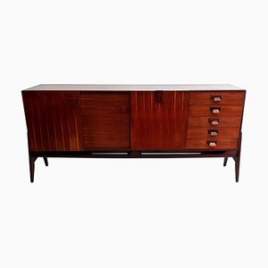 Mid-Century Credenza in Teak by Fratelli Proserpio, Italy