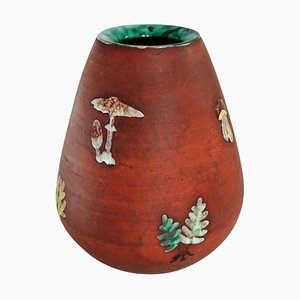 Jarrón de cerámica Mid-Century, Sweden