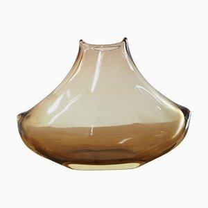 Mid-Century Art Glass Vase, Czechoslovakia, 1960s