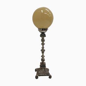 Art Nouveau Style Metal Table Lamp