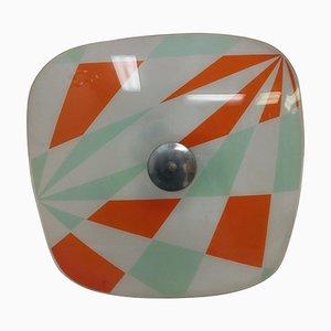 Mid-Century Design Glass Pendant from Napako, 1960s