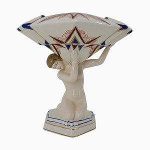 Art Deco Figurentisch, 1930er