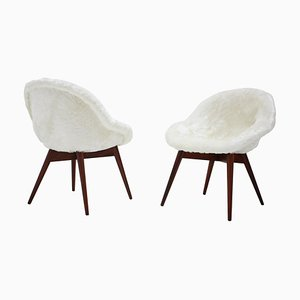 Lounge Chairs by Miroslav Navratil, 1960s, Set of 2