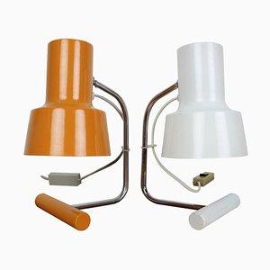 Tischlampen von Josef Hůrka für Napako, 1970er, 2er Set