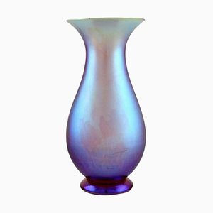 Ikora Vase in Iridescent Glass from WMF, Germany, 1930s