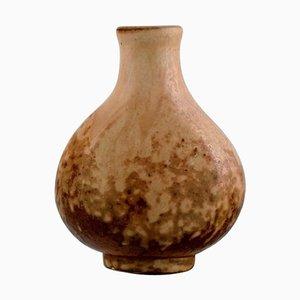 Glasierte Steingut Vase von Bode Willumsen, 1937