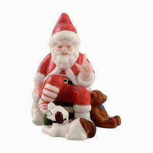 Porcelain Figurine of The Annual Santa from Royal Copenhagen, 2012