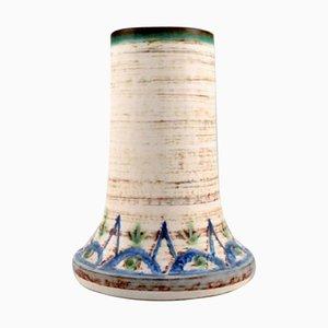 Vase in Glazed Stoneware, Denmark, 1960s