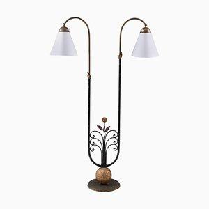 Mid-Century Stehlampe von Tor Wolfenstein für Ditzingers, 1930er, Schweden