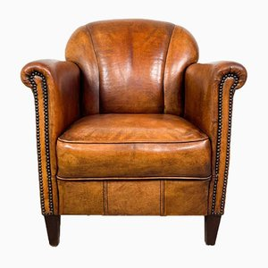 Vintage Cognac Armchair