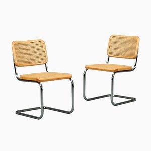 Thonet S 32 Cantilever Beech Chair