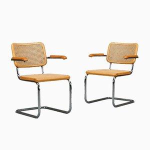 Thonet S 64 Cantilever Beech Chair