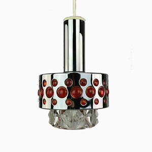 Chrome Ceiling Lamp from Richard Essig, 1960s