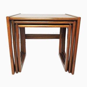 Teak Nesting Tables by Robert Bennett for G-plan, 1960s, Set of 3