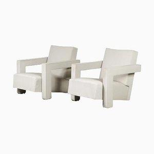 Sedie Utrecht di Gerrit Rietveld per Metz & Co, Paesi Bassi, 1950, set di 2