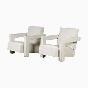 Utrecht Chairs by Gerrit Rietveld for Metz & Co, The Netherlands, 1950, Set of 2