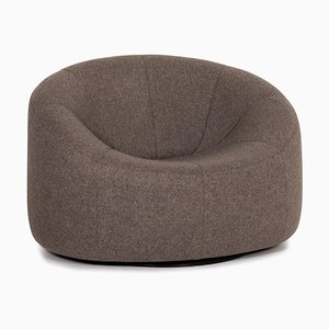 Pumpkin Lounge Chair in Grey Anthracite Fabric by Pierre Paulin for Ligne Roset
