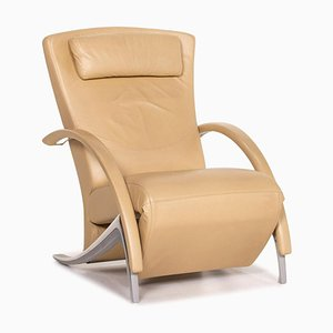 Model 3100 Leather Lounge Chair by Rolf Benz