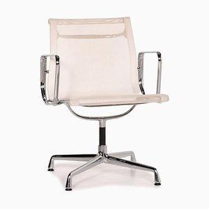 Sedia girevole modello Ea 108 in alluminio di Vitra