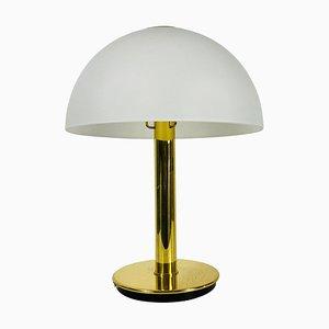 Deutsche Mid-Century Messing Tischlampe von Limburg, 1960er