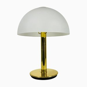 Mid-Century German Solid Brass Table Lamp from Limburg, 1960s