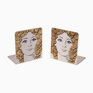 Bookends by Piero Fornasetti, Set of 2