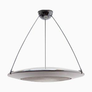 Mira C Chrome Disk Lamp by Ezio Didone