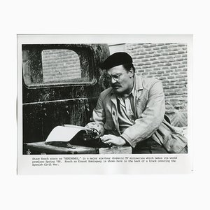 Stacey Keach As Hemingway, Nik Wheeler, Fotografie, 1984