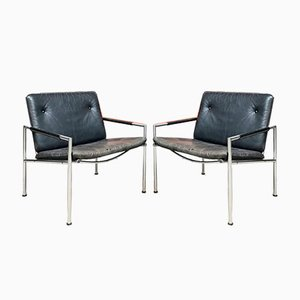 Dutch SZ03 Armchairs by Martin Visser for T Spectrum