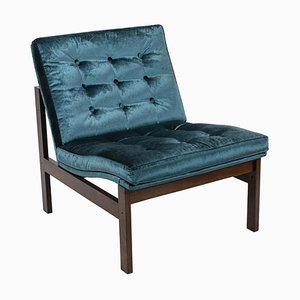Danish Fireside Chair in Rosewood by Ole Gjerløv-Knudsen & Torben Lind for France & Søn, 1962