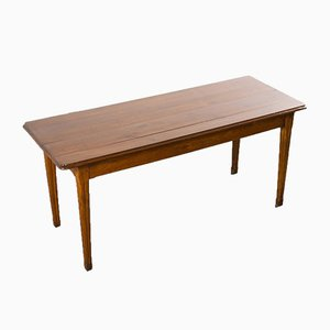 French Pear Wood Rectangular Dining Table, 1950s